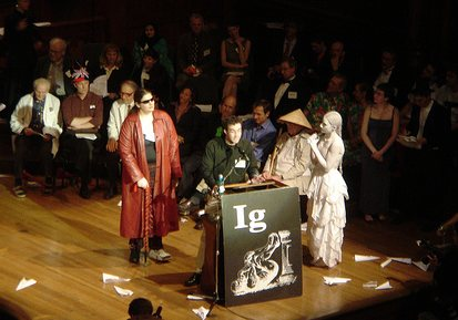 A picture of the 2006 Ig Nobel awards