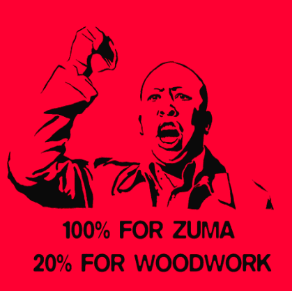 Julius Malema: 100% for Zuma, 20% for woodwork