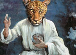 The Lord is a showing leopard